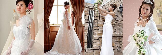 ウェディングドレスデザイン