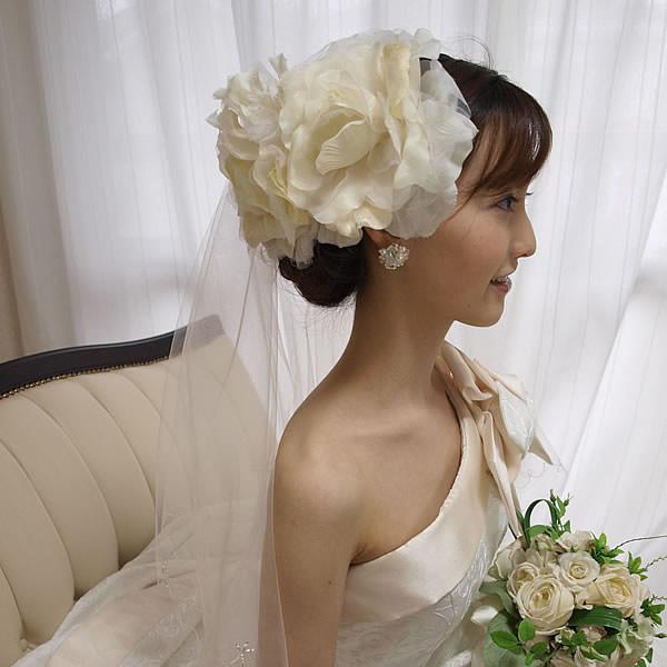 ヘッドドレス【ヴァニラ】