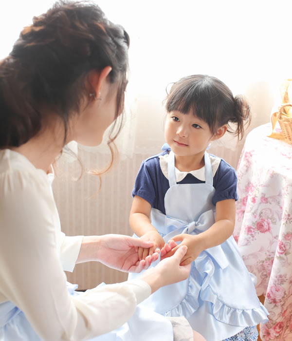 お姫様エプロン【アンベリール・ブルー】