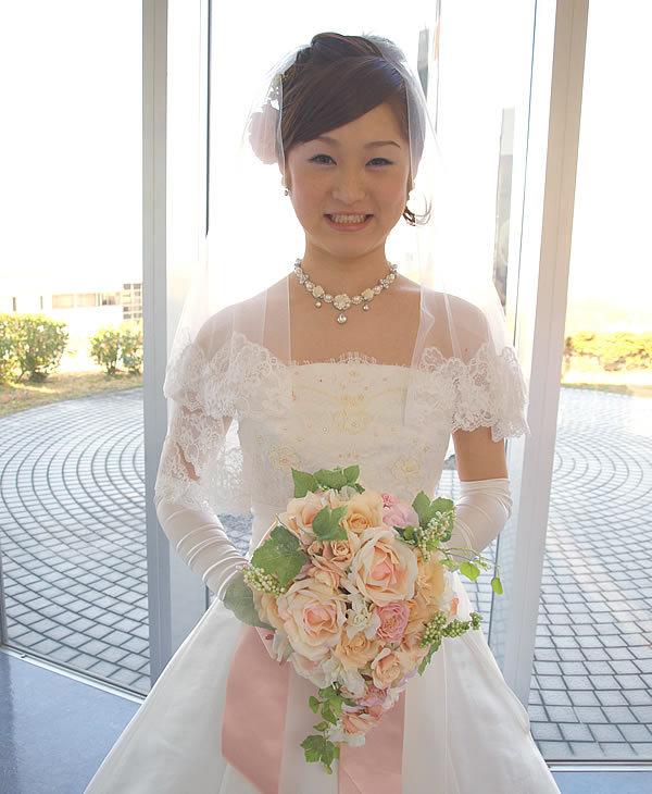 ウェディングベール ショート丈【花の妖精】