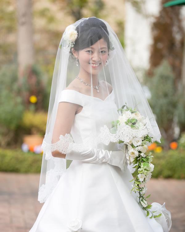 ウエディングベール ミドル丈【ジュリエット】