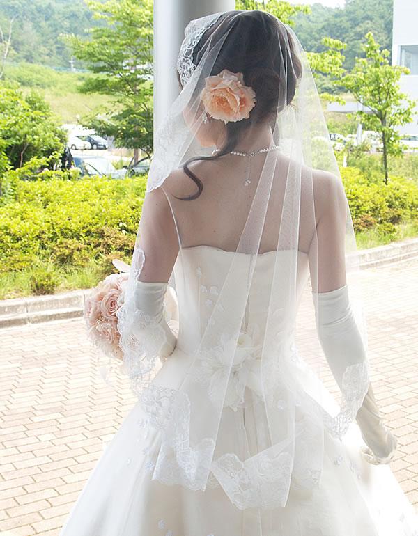マリアベール ショート丈【花の妖精】
