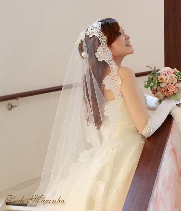 マリアベール ミドル丈【ジュリエット】