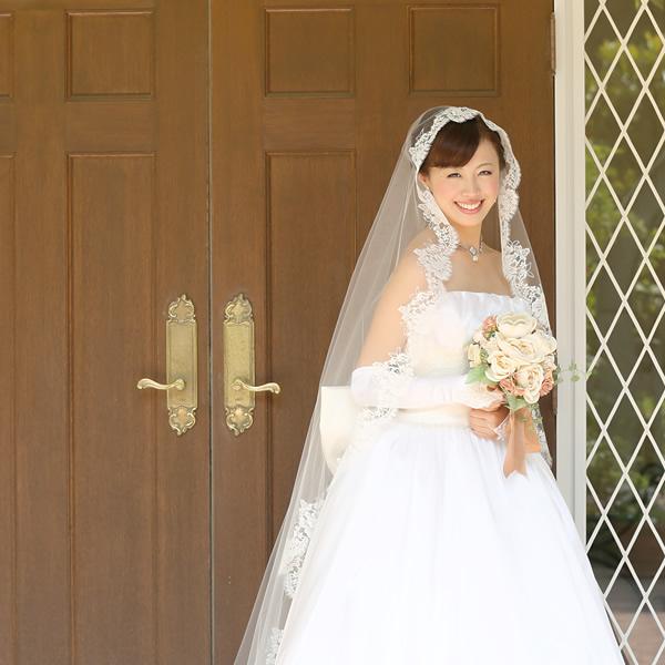 マリアベール ロング丈【スカーレット】