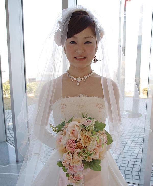 ウエディングベール ロング丈【ふわふわメロウ】